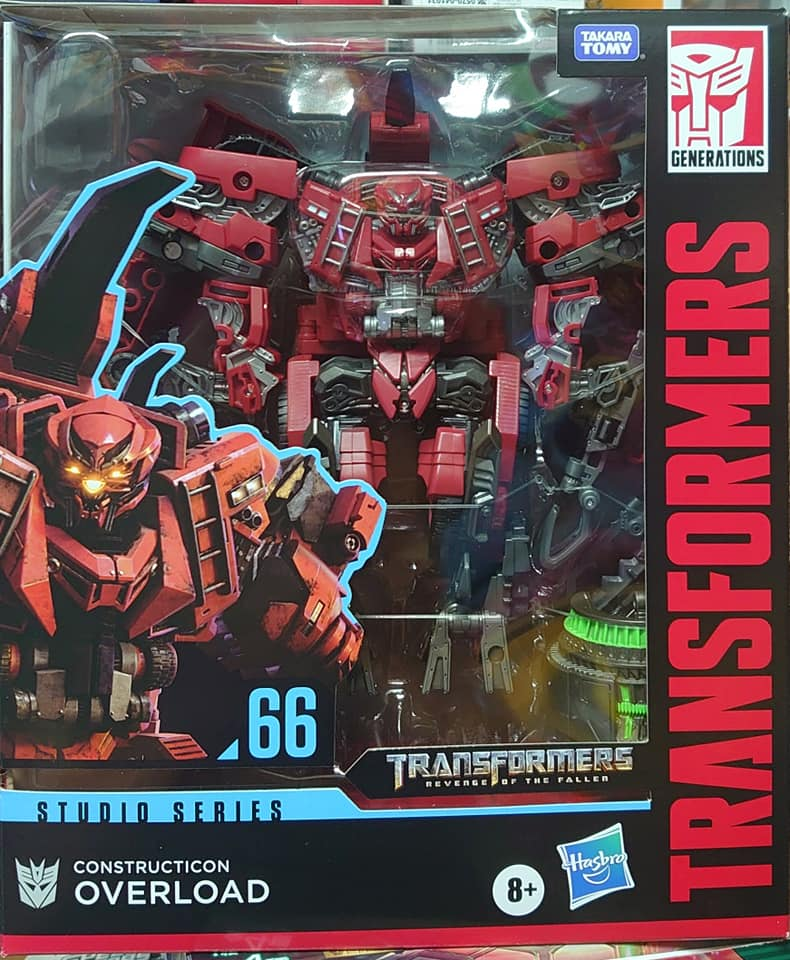 Transformers Studio Series surcharge Broyeur Leader Class 66 Action Figure