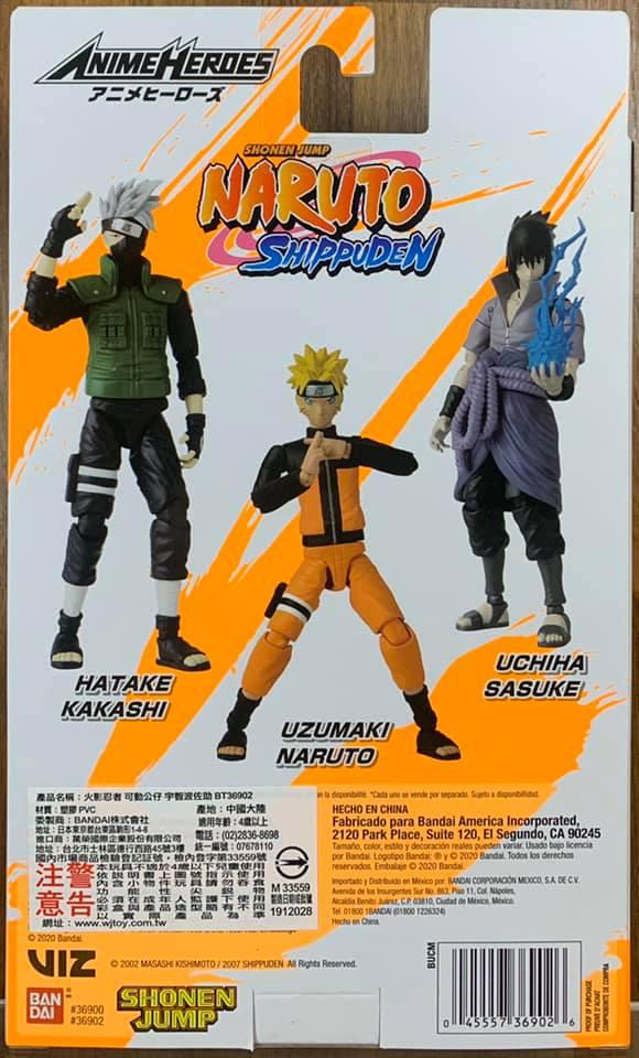 "Bandai Naruto Shippuden Anime hero Series 6""inch Uchiha ..."