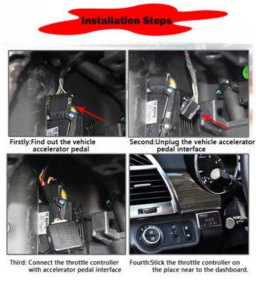 EASYCAR Power Pedal Box Throttle Controller Mitsubishi NEW Triton L200 2015-ONS