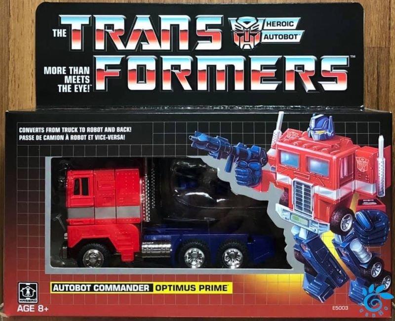 Transformers génération 1 Réédition Exclusive Optimus Prime-Autobot Commander