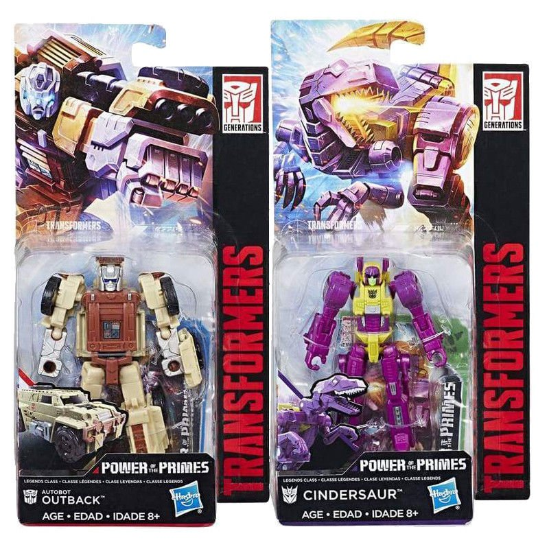 Transformers Power of the Primes POTP W3 Legend Class Outback /& Cindersaur NEW