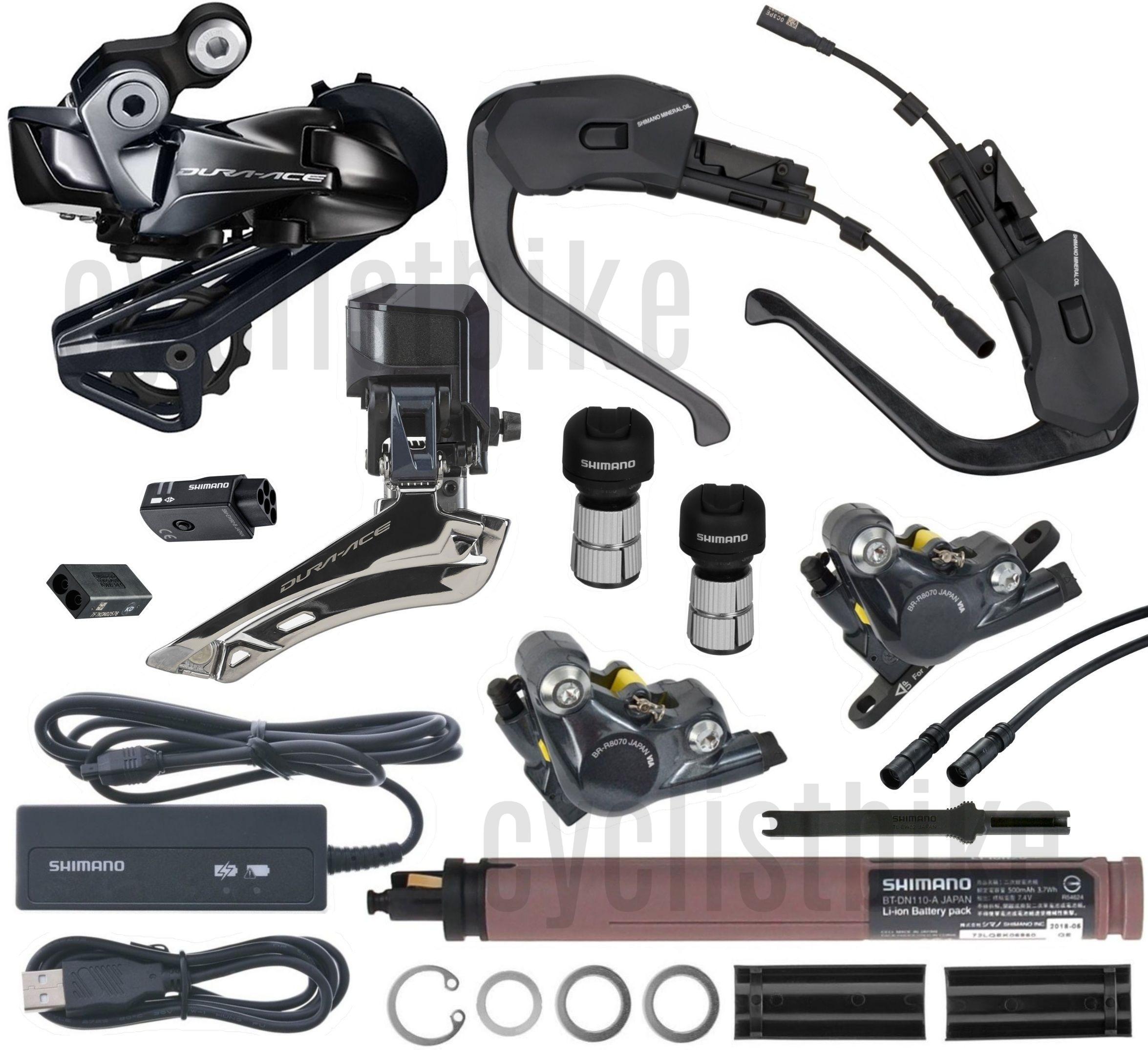 Shimano Ultegra R8060 Time Trial//Triathlon Di2 Electric Upgrade Kit NIB SS//GS