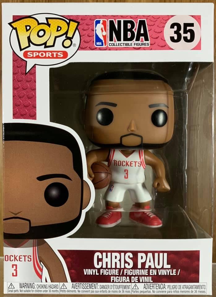 2017, Toy NUEVO Chris Paul Funko Pop Nba: