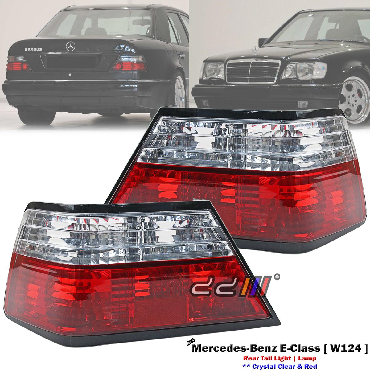 Details about  /Pair Rear Tail Light Lamp For Mercedes-Benz W124 E280 E320 E420 E500 1994-1996