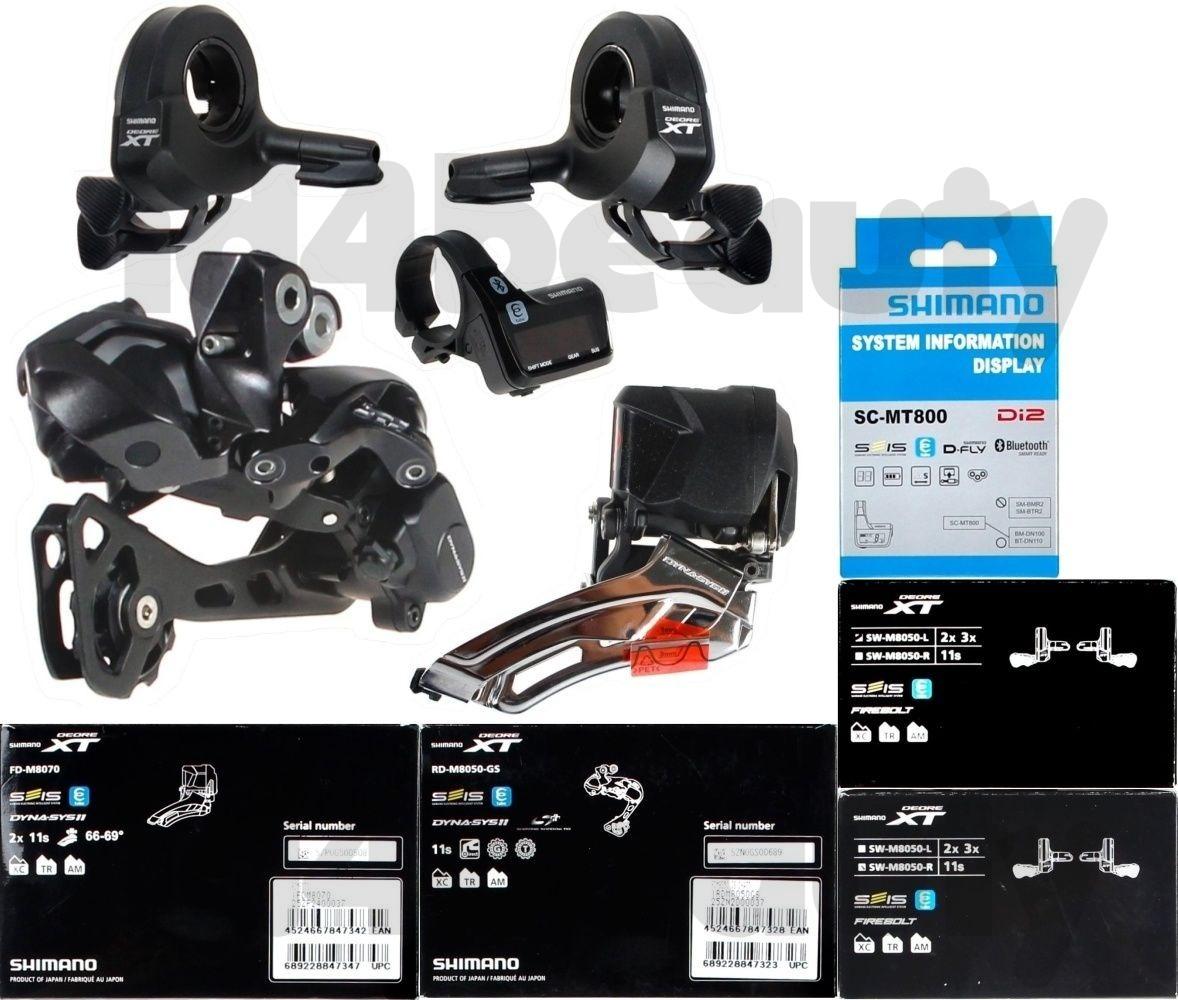 Shimano XT DI2 Shadow Rear Derailleur w// M8050-R Switch right