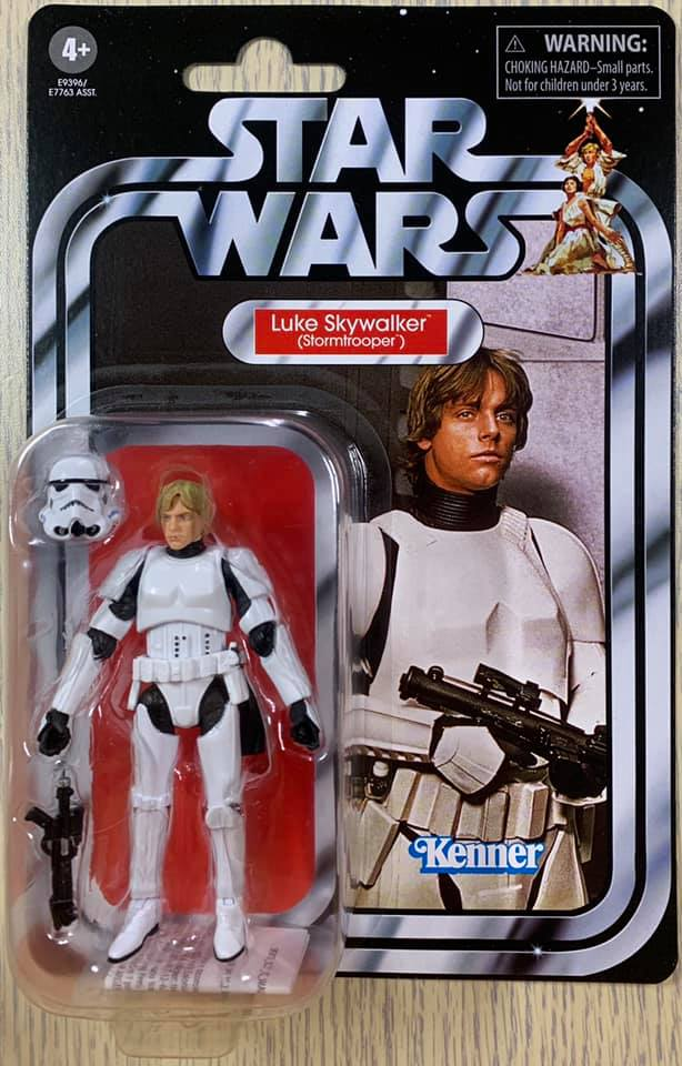 Star Wars 3.75 inch Vintage Collection TVC K-2SO Power Droid Wolffe Luke MOC
