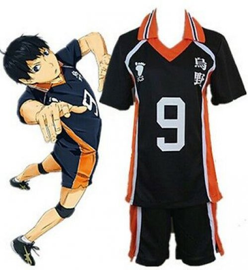 Haikyuu Karasuno High School Uniform No Haikyu 10 Shoyo Shouyou Hinata Costume