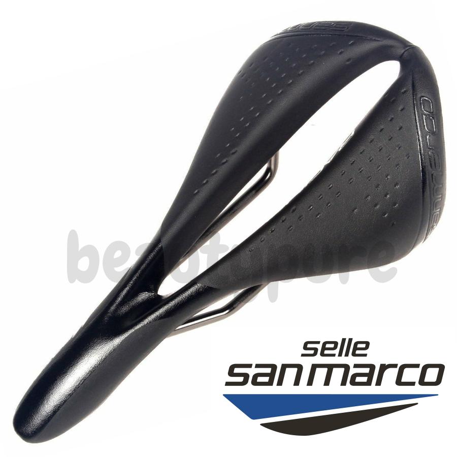 Selle San Marco Black Mantra Racing Bike Saddle Xsilite Rails New