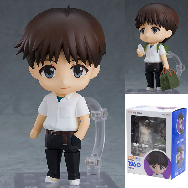 Good Smile Company Shinji Ikari Rebuild of Evangelion Nendoroid #1260