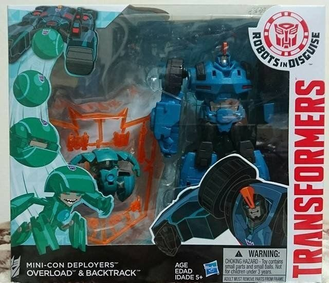 Transformers Robots In Disguise OVERLOAD Mini Con Deployer Rid