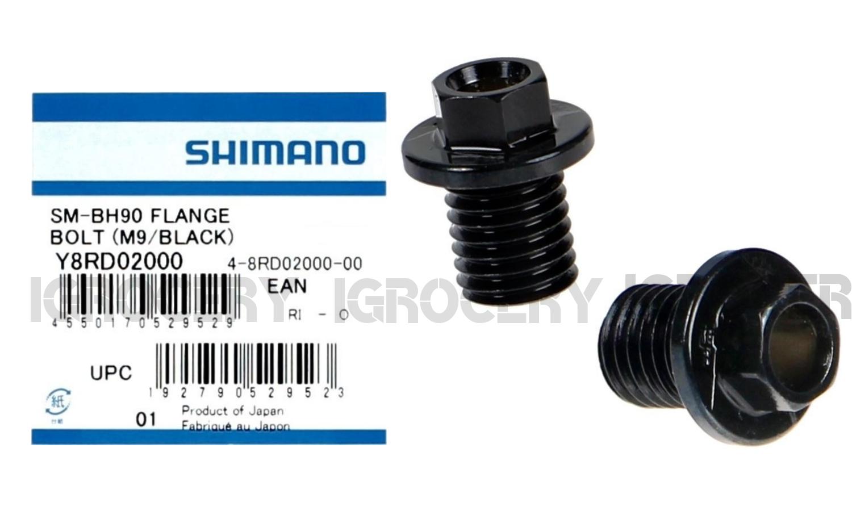 Shimano ST-R9170//R9120//R8070//R8020 Hydraulic Brake Flange Connecting Bolt M9