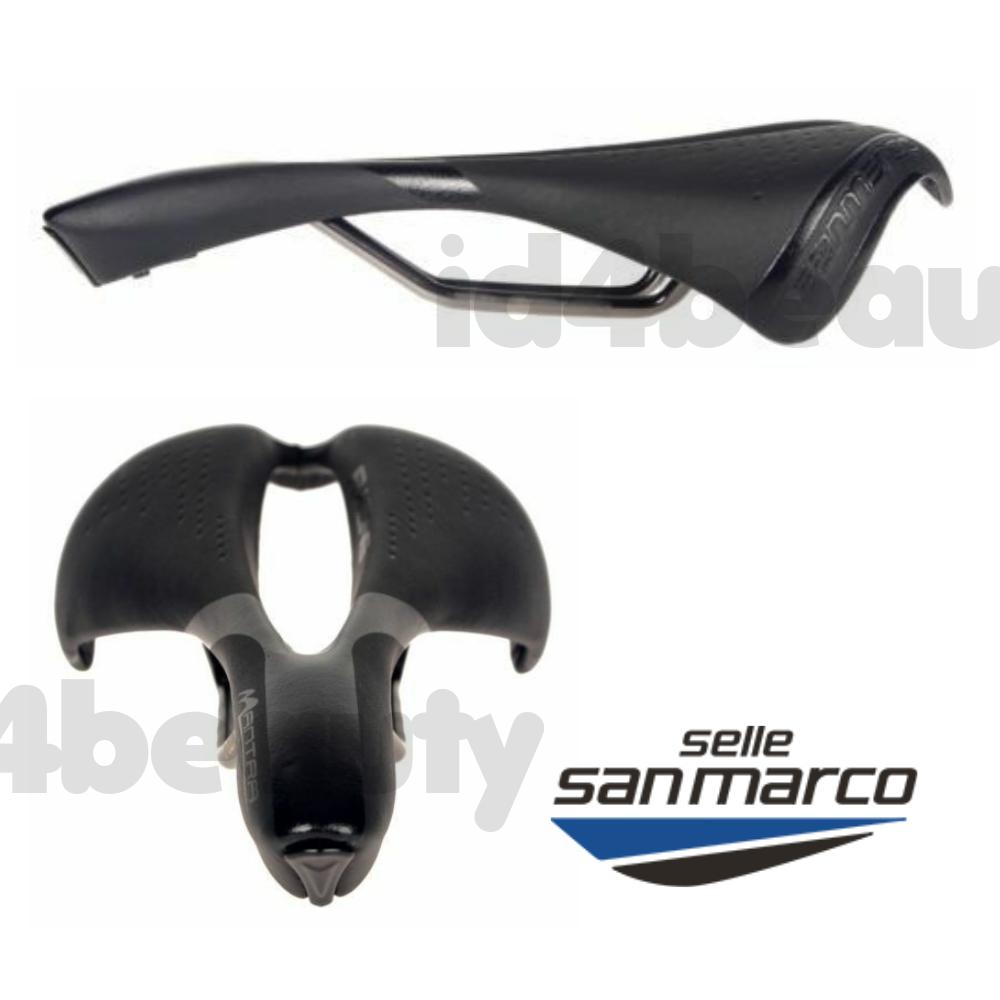 Selle San Marco Mantra Xsilite Rail Saddle Racing Seat Road Bike Cycling Black