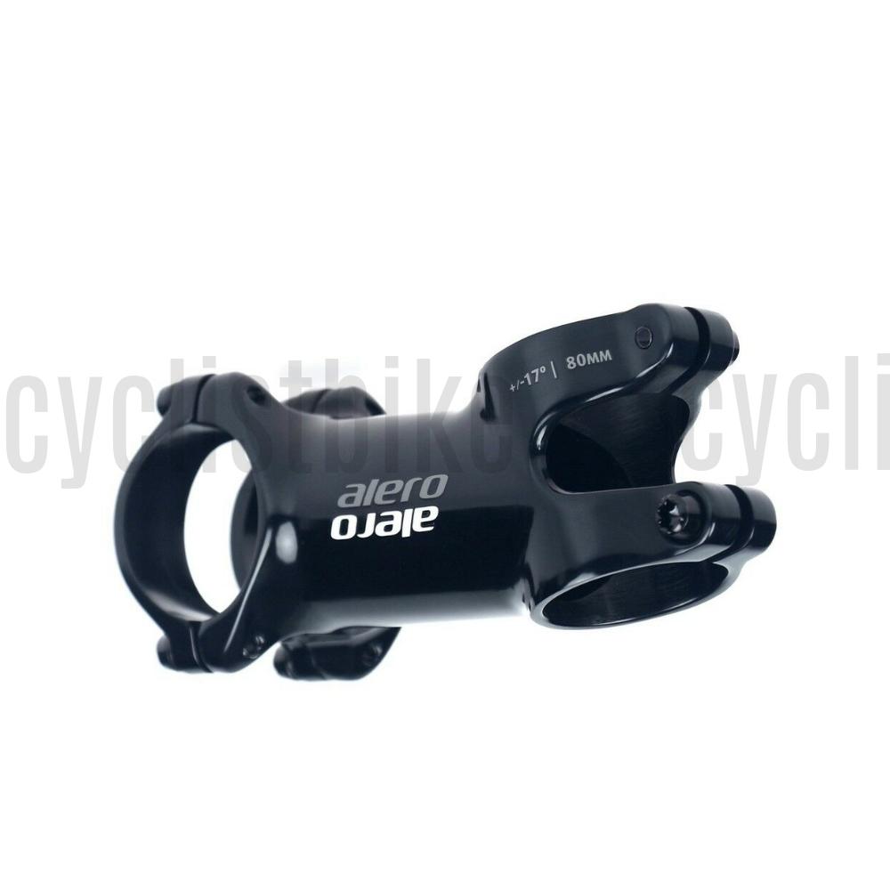 Decibel 3D Forged 7050 Aluminum 31.8mm Ultra Light Road//MTB Black Stem ±7°