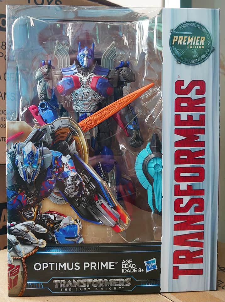 MV5 Last Knight 2017 SDCC TRANSFORMERS OPTIMUS PRIME Voyager In-Stock