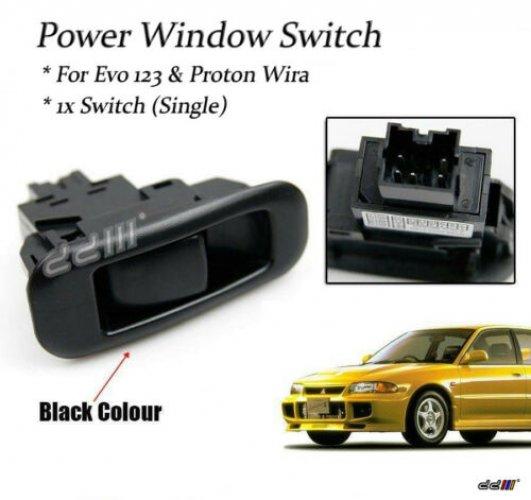 Mitsubishi Evo 4 5 6 Passenger Window Switch Control Window Switch Evolution