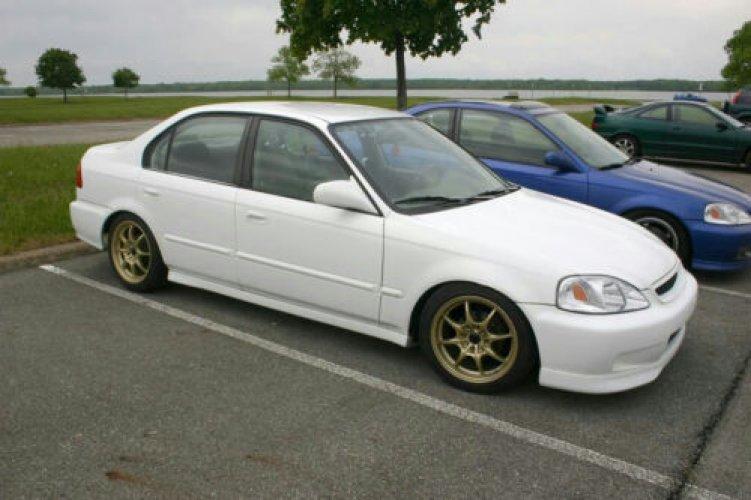 New ~ Rear Left LHs Outer Door Handle Suits 4~Door Honda Civic 1996-2000 EK EJ