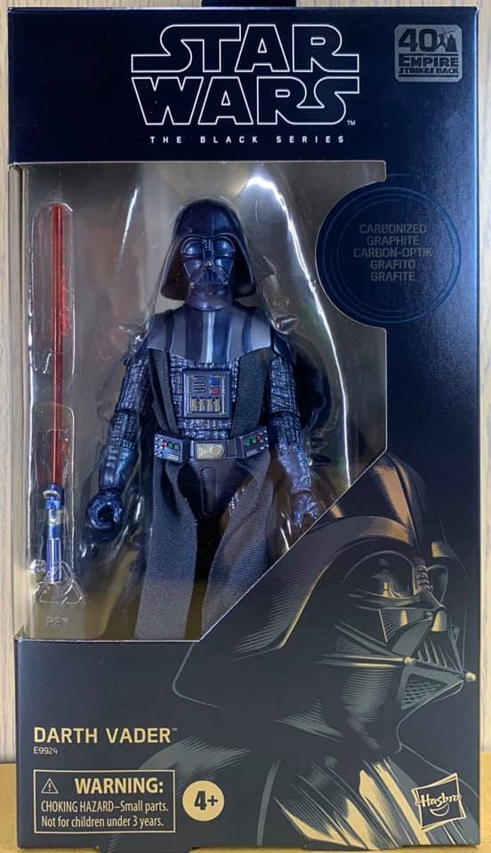 Star Wars The Black Series Carbonized Collection Darth Vader IN HAND FREE SHIP!