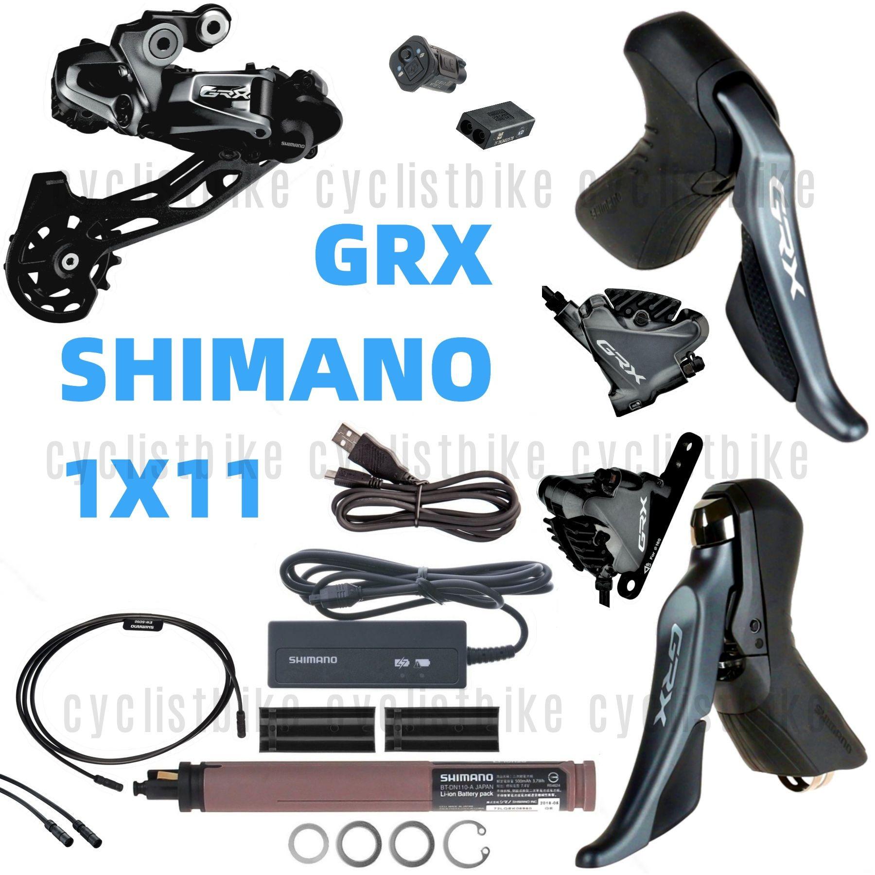 Shimano Ultegra R8050 DI2 Electric Upgrade Groupset Kit w//o Shifters NIB