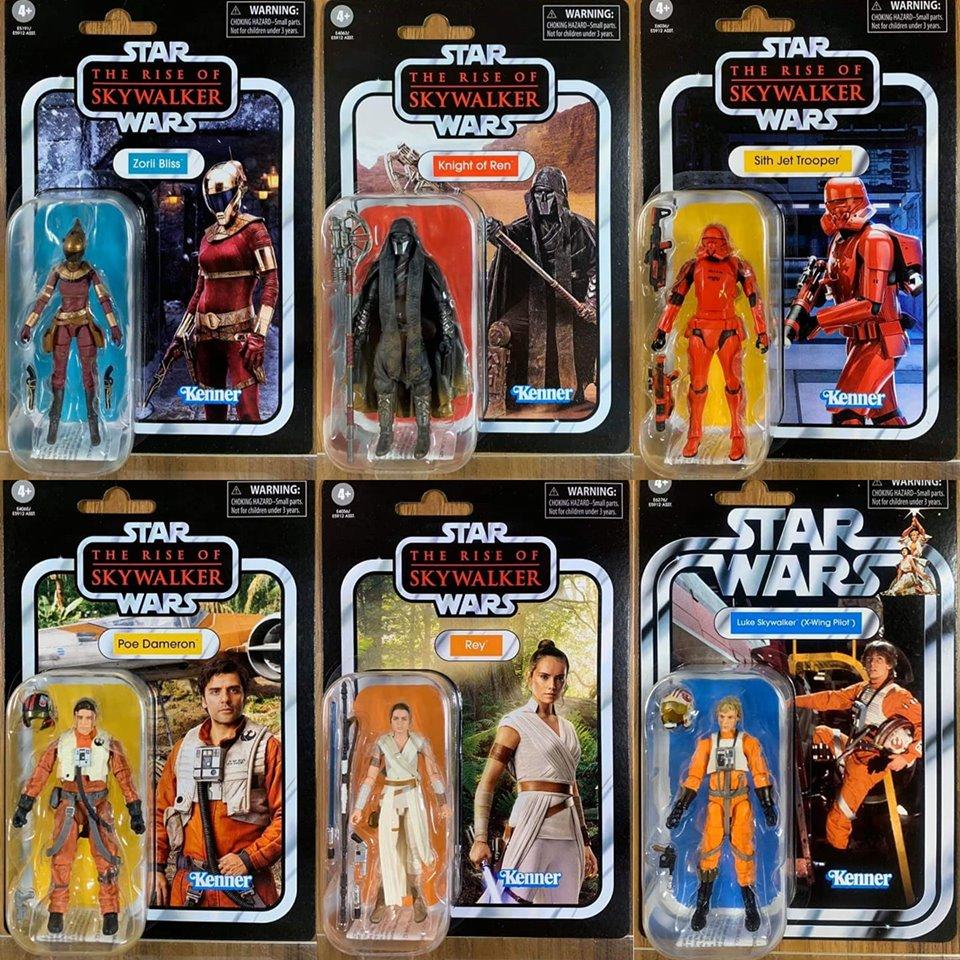 Star Wars Vintage Collection Luke Skywalker X-Wing Pilot 2019 US Vendeur dans la main