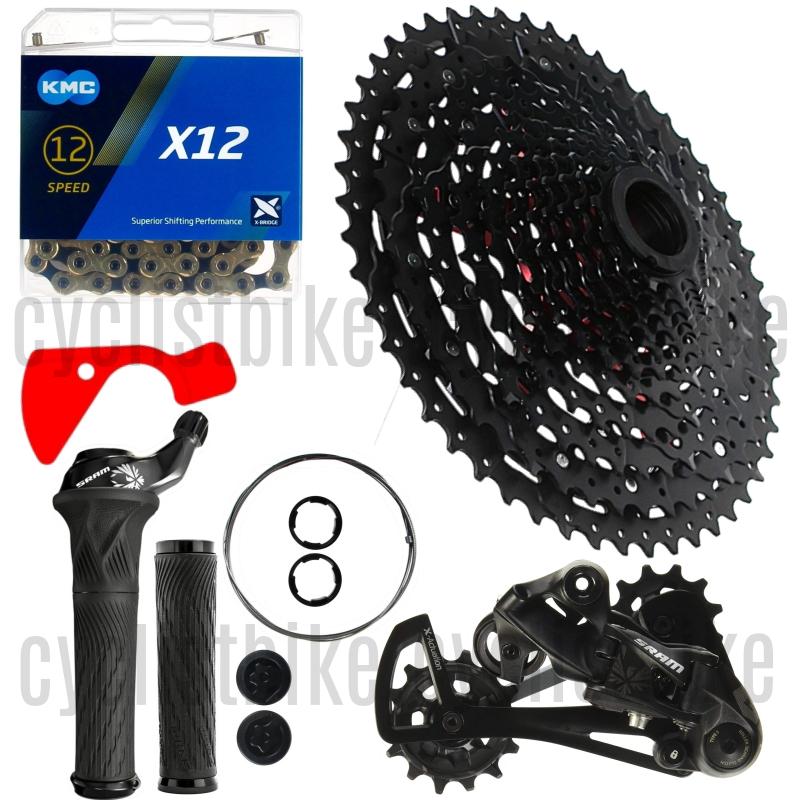 SRAM GX EAGLE 1x12Speed w//SUNRACE CSMZ91X XD Type11//50T 4pcs Kit New