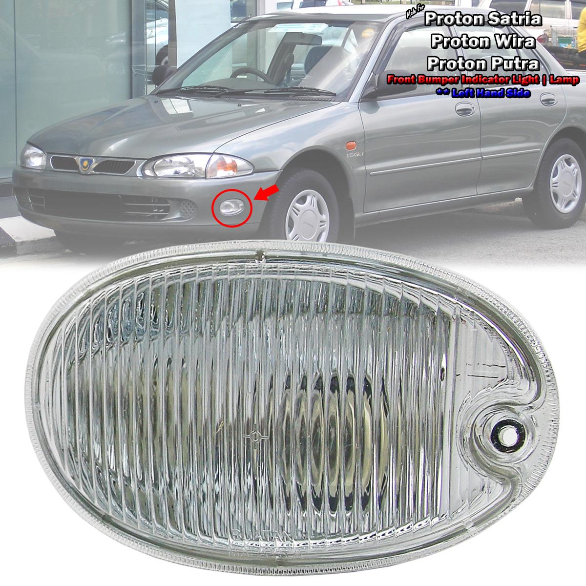 New Front Fog Work Driving Light Lamp Proton Wira Satria Putra M21