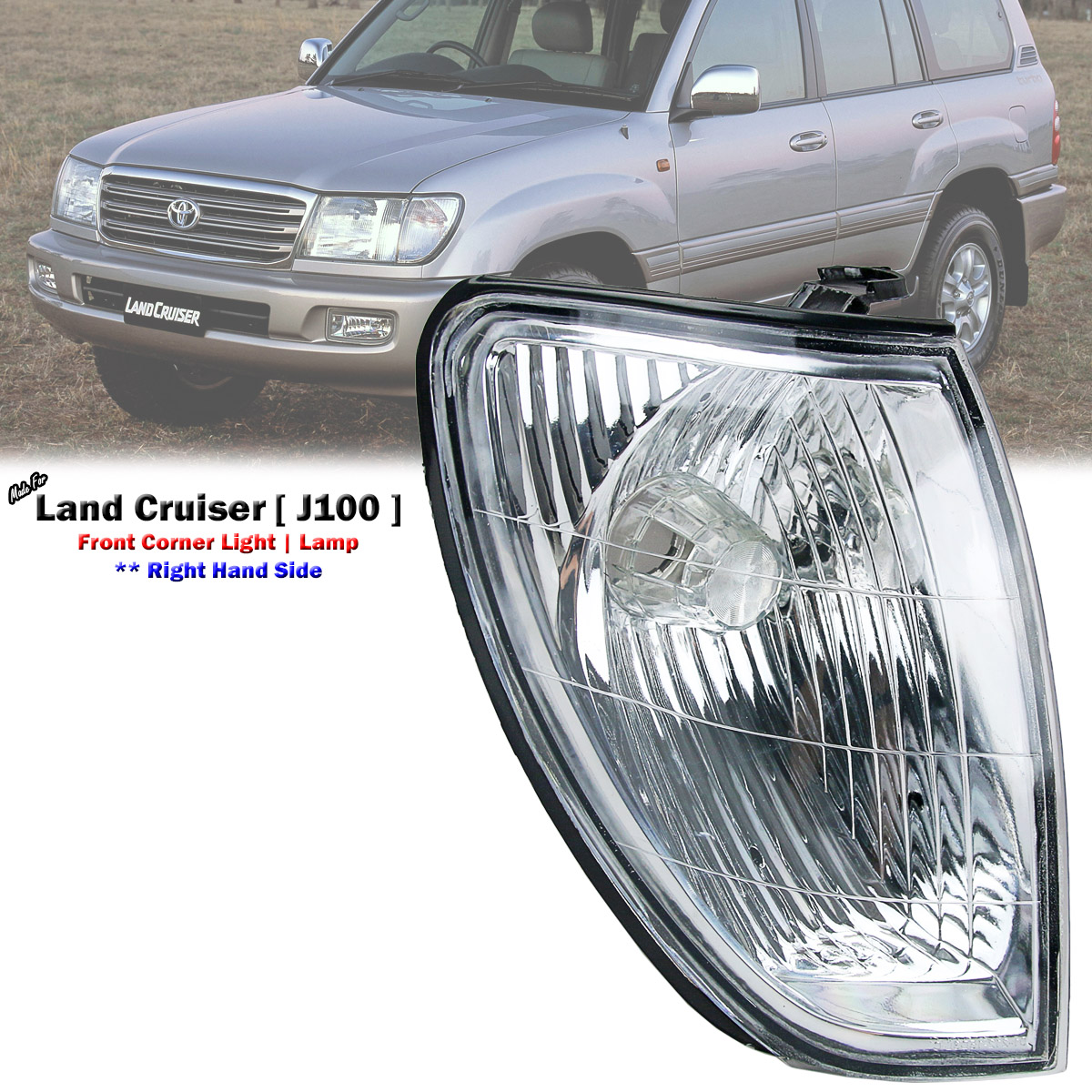Front Right Corner Light Lamp For Toyota Land Cruiser 100 UZJ100 1998-05 NEW