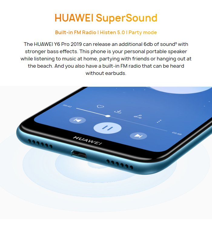 Details about HUAWEI Y6 Pro 2019 3GB/32GB 6 09