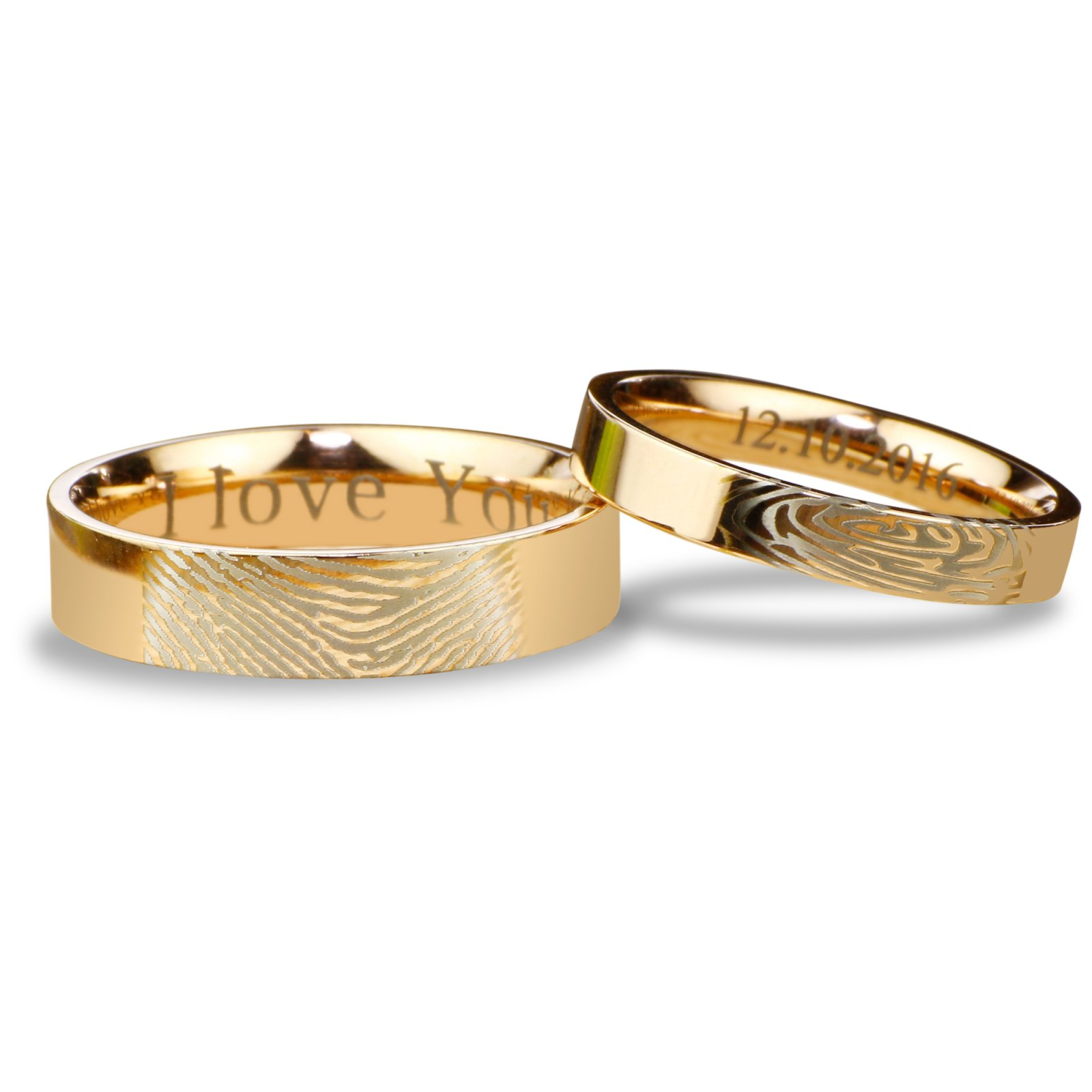 elizabeth designs blog the shaped rings wedding anne heart fingerprint