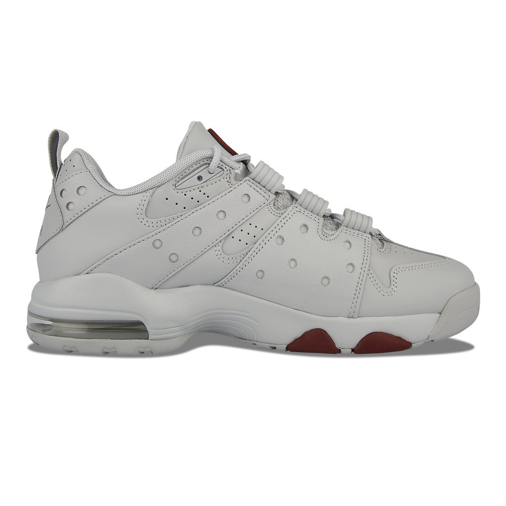 size 40 5ad23 be12c Details about Nike Air Max2 CB 94 Low Men Basketball Shoes 917752-002  Charles Barkley Grey Red