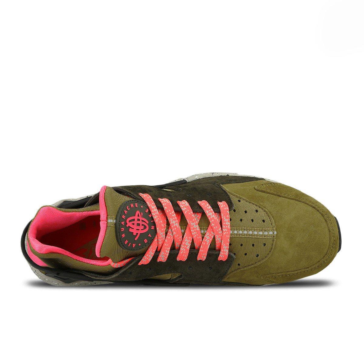 e38b6fecf2f0 Nike Air Huarache Run Premium 704830-302 Desert Moss   Cobblestone - Cargo  Khaki