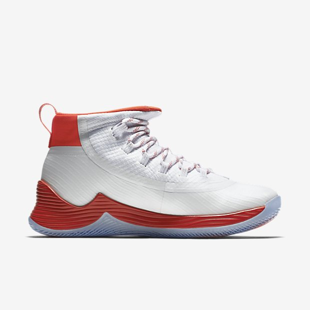 online retailer a5f3a 08d20 Nike JORDAN ULTRA.FLY 2 MENS BASKETBALL SHOE White Gamma Orange 897998-117  10