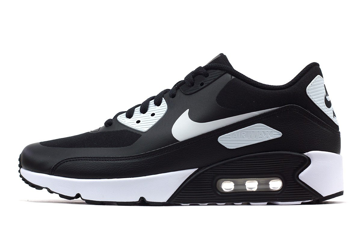 reputable site 516ed c800b NIKE AIR MAX 90 ULTRA 2.0 ESSENTIAL BLACK WHITE-WHITE Men Shoes 875695-008  10
