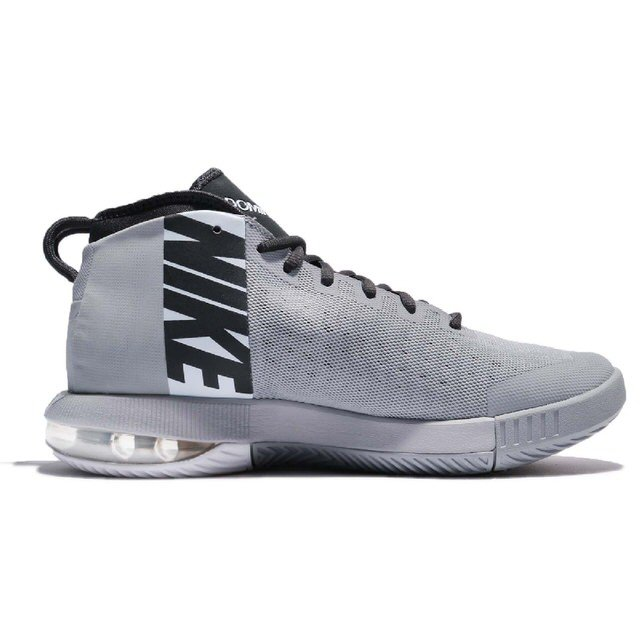 79111b9afd4f NIKE AIR MAX DOMINATE EP BASKETBALL SHOES 897652-002 WOLF GREY ANTHRACITE- WHITE