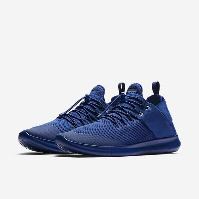bfe95dec52ea4 Nike Free RN Commuter 2017 Men s Running Shoes 880841-402 DEEP ROYAL BLUE