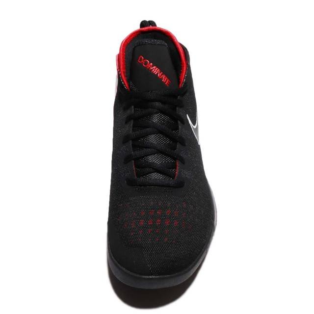 the best attitude c6ed7 85bcd NIKE AIR MAX DOMINATE EP BASKETBALL SHOES 897652-001 BLACK WHITE-UNIVERSITY  RED