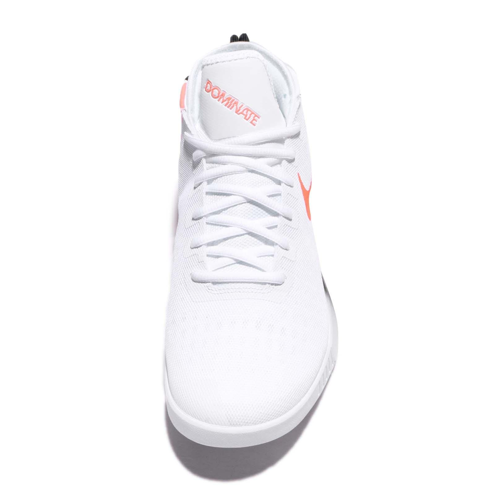 the latest 6b61b 26309 NIKE AIR MAX DOMINATE EP BASKETBALL SHOES 897652-100 WHITE TOTAL CRIMSON- BLACK