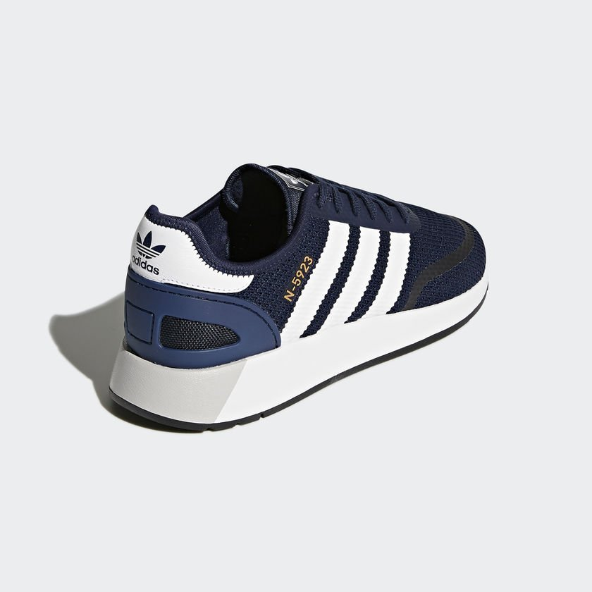 meet 676fb 87328 Adidas Men Originals N5923 Runner Navy White Running Shoes DB0961 ...