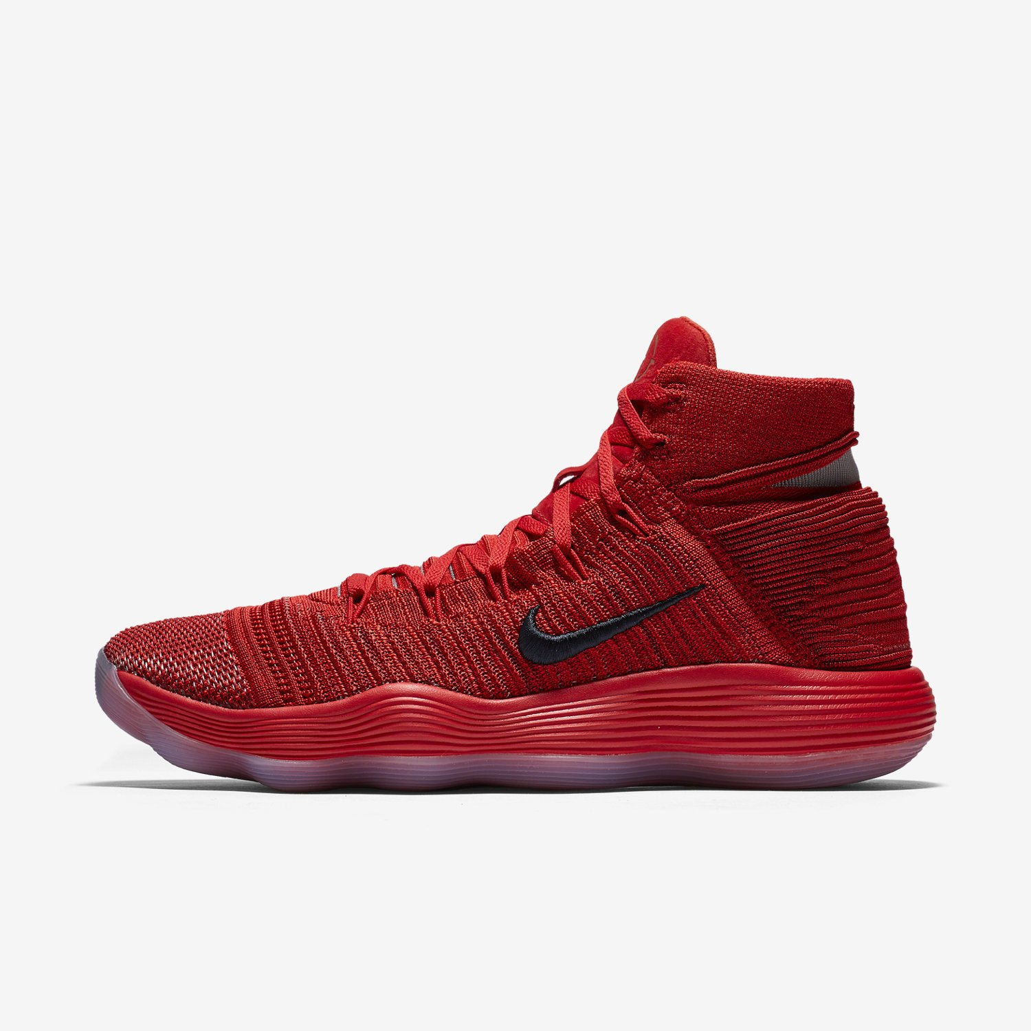 cbd9eab83d0d Details about Nike React Hyperdunk 2017 Flyknit EP Basketball Shoes  917727-600 University Red