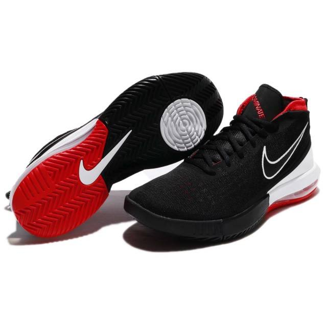 the best attitude 2b40f 1d891 NIKE AIR MAX DOMINATE EP BASKETBALL SHOES 897652-001 BLACK WHITE-UNIVERSITY  RED