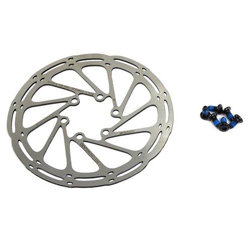 Black AVID SRAM Centerline 2P Disc Rotor 180mm 6-bolt