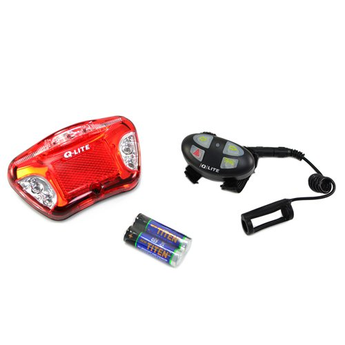 Q Lite Ql 273 Multi Functional Wireless Rear Mtb Road Light Red