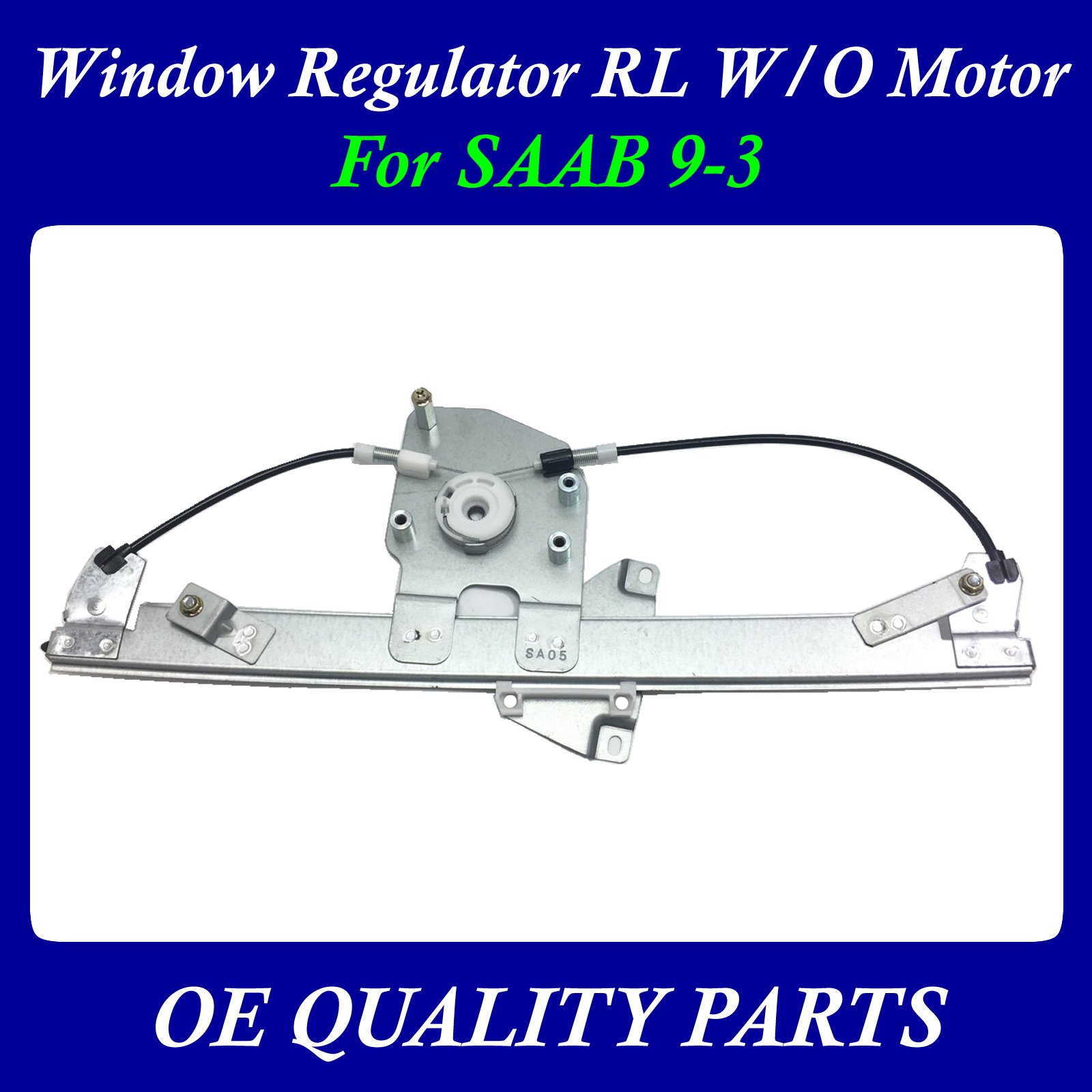 Power Window Motor and Regulator Assembly Rear Right 22803635