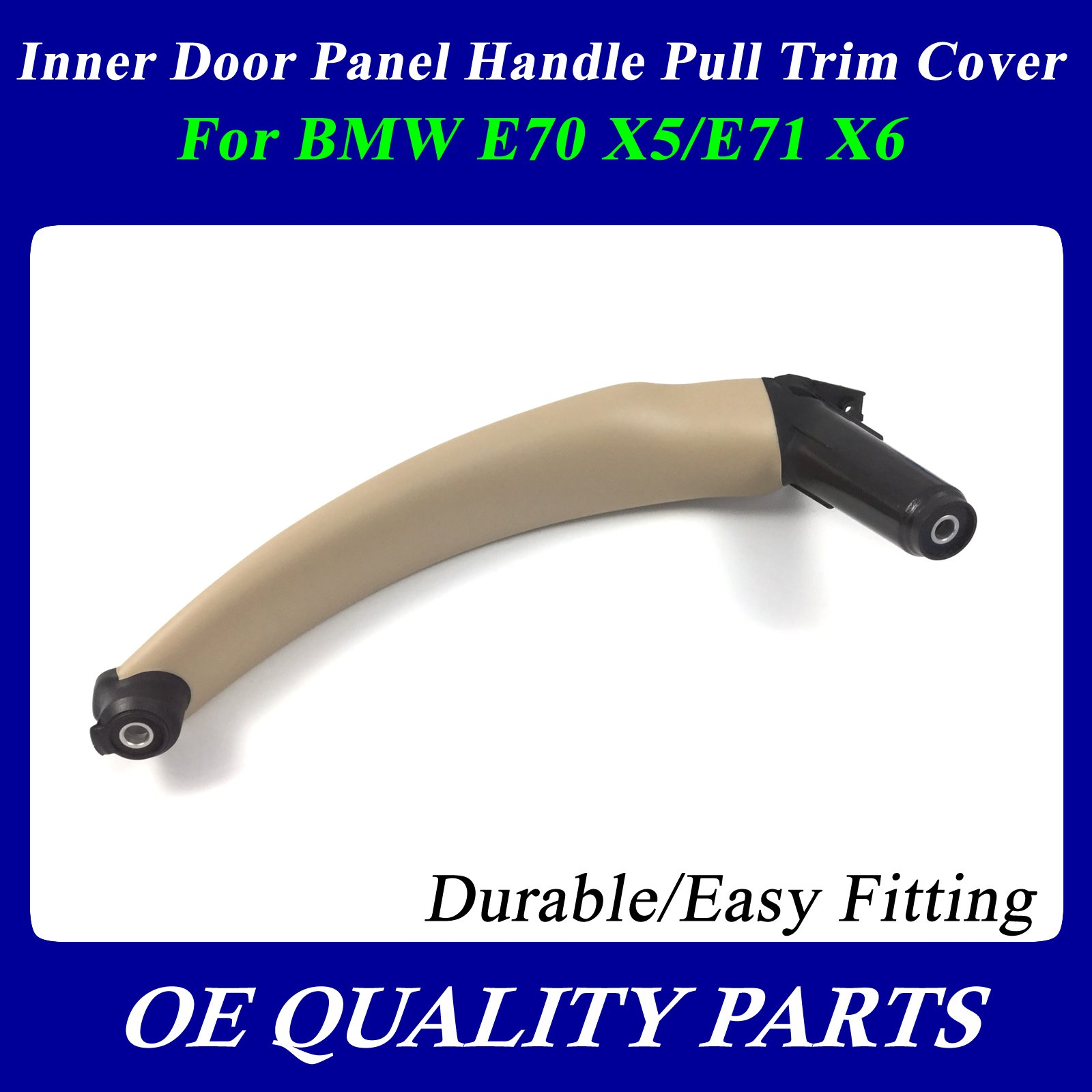 Right Inner Door Panel Handle Pull Trim Cover For BMW E70 X5 E71 X6 51416969404