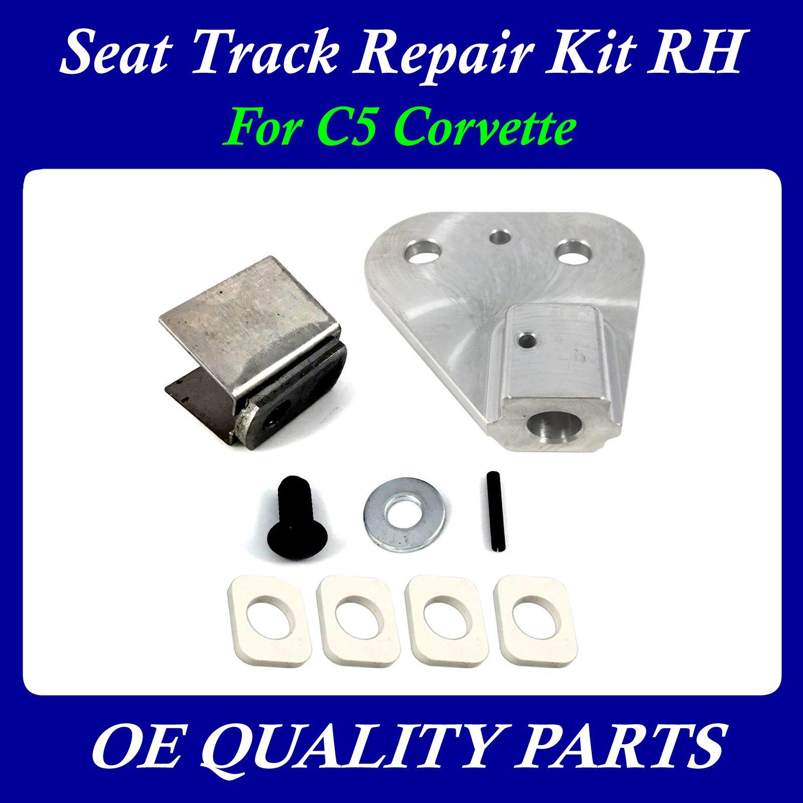 2 seats C5 /& Z06 Corvette Seat Track Repair
