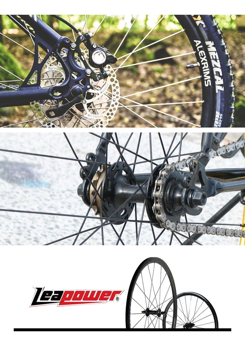 Bicycle Bike Frame Bearing Accessories Tool Leapower YS-BT1112 One Set Fits All