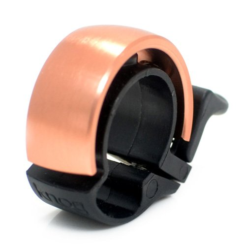 Ø23.8-31.8mm Copper Knog Oi Classic Bike Cycling Bell Fits Ø22.2mm