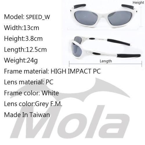 cadb7f10f1175 Cycling Sunglasses Kids Children White Sports Polarized Baseball ...