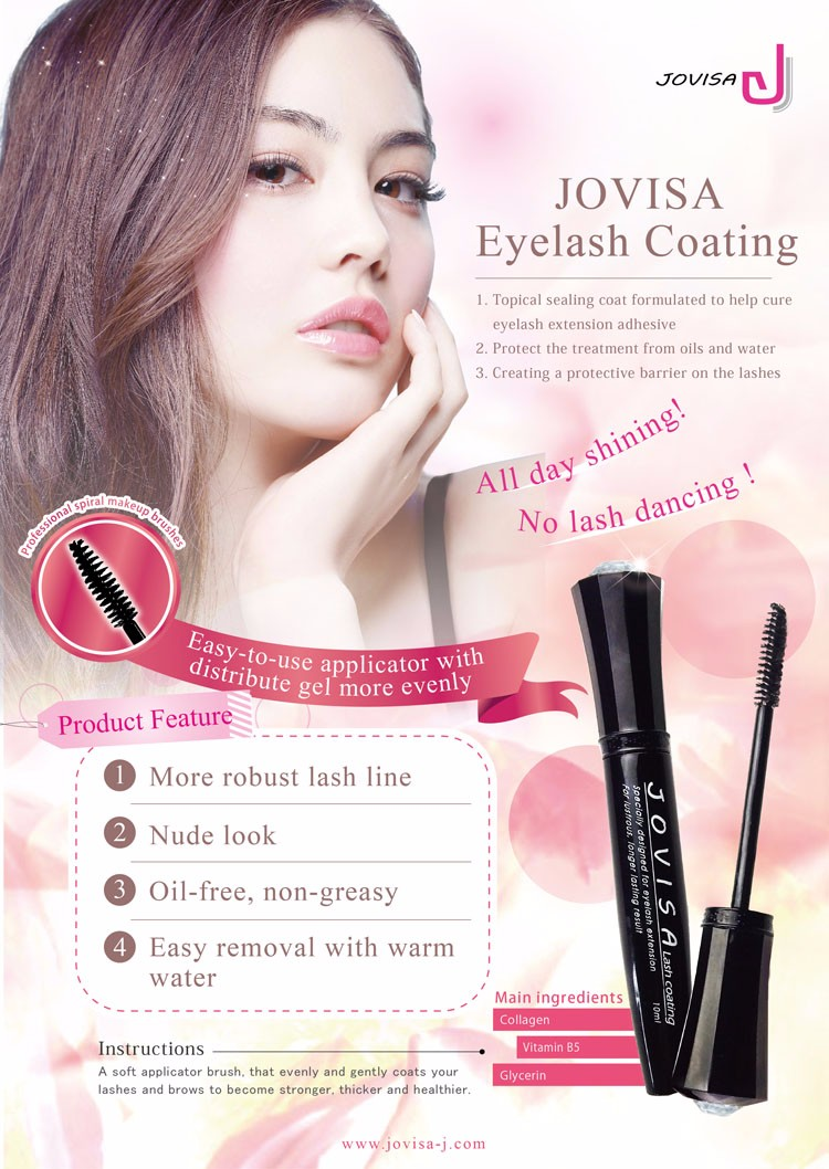cc53ae20f72 JOVISA July Limited Eyelash Coating Sealant and Tonic Enhancer Set ...