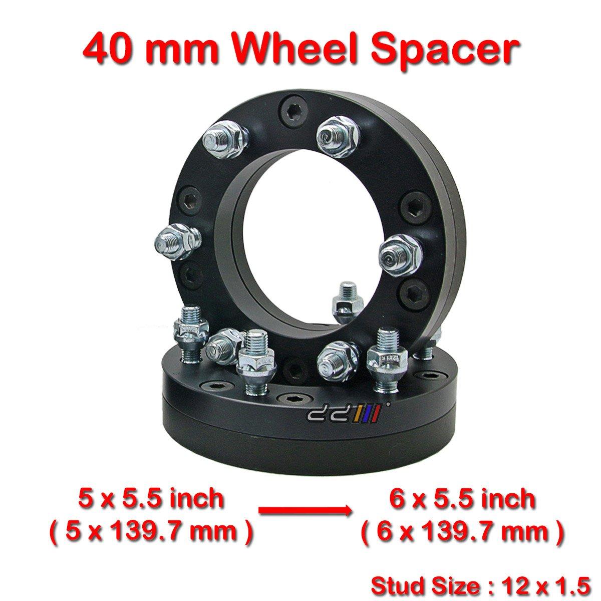 5x135mm 2pcs UNIVERSAL WHEEL SPACERS 6mm 5x139.7mm 5x130mm 6x139.7mm