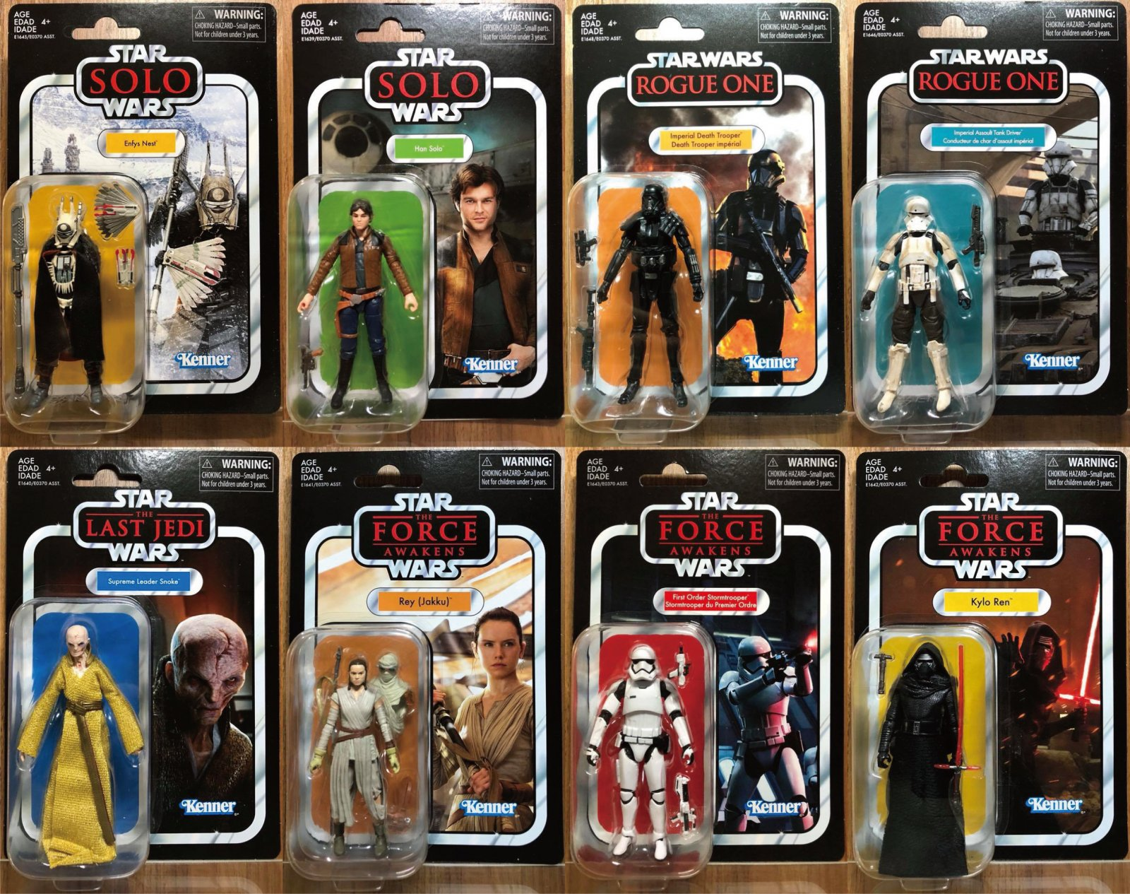 "Hasbro Star Wars Vintage Collection 3.75"" Inch Kenner Wave"